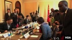 南非官員準備下星期舉行的峰會