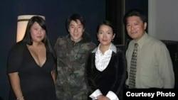 第三届好莱坞中国电影节,右起陈宝尔、吕丽萍、房祖名 (陈宝尔提供)