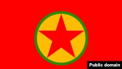 PKK bayrağı