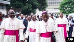 B'episko ya CENCO (Conférence épiscopale nationale du Congo), na centre interdiocesain, Kinshasa, 1er janvier, 2017.