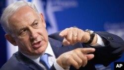 اسرائیلي وزیراعظم بېنجمن نېټن یاهو په غزه کې د جگړې وروسته د فرانس دوره لنډه کړه او د گل، دوشنبې، په ورځ بېرته ستن شو