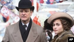 "Colin Firth i Helena Bonham Carter u filmu ""The King's Speech,"" ""Kraljev govor"""