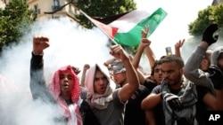 Protes serangan darat Israel di Perancis