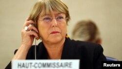 လူ႔အခြင့္အေရးဆိုင္ရာ ကုလသမဂၢမဟာမင္းႀကီး Michelle Bachelet
