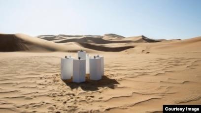 Artist Gives 80s Hit 'Africa' Permanent Desert Home
