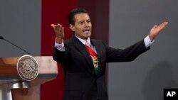 El presidente mexicano, Enrique Peña Nieto, dijo que en su país ya se hacen esfuerzos para ayudar a los niños migrantes que cruzan la nación, rumbo a EE.UU.