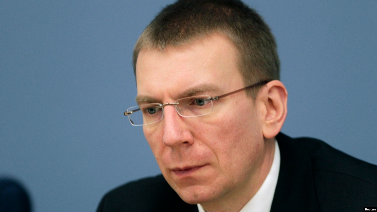 Latvian FM: Putin's 'Global Catastrophe' Remarks 'Irresponsible'