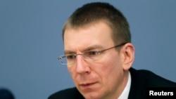 立陶宛外交部長利納斯·林克維丘斯 - 資料照片