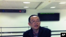 中國異議作家余杰抵達美國首都華盛頓