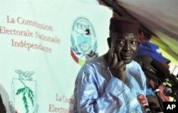 Le président de la CENI, Siaka Toumani Sangaré