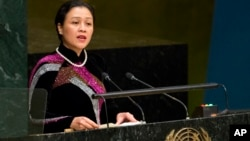 Đại sứ Việt Nam tại Liên Hiệp Quốc, bà Nguyễn Phương Nga.