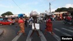Vista de Monrovia, capital da Libéria.