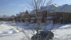 طوفان بزرگ برف در شرق آمریکا