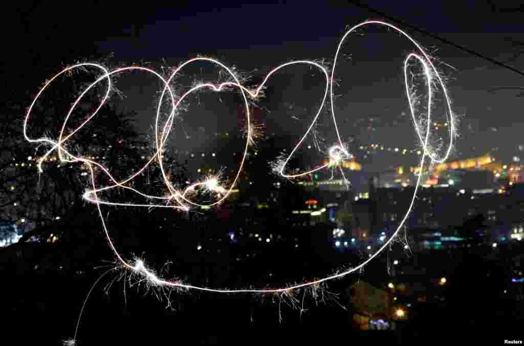 Shimoliy Makedoniyada yangi yil oqshomi