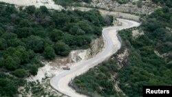 La imagen de enero pasado, corresponde a un área próxima a la frontera de Israel-Líbano, cerca de la norteña ciudad israelí de Nahariya, donde se produjo el ataque.