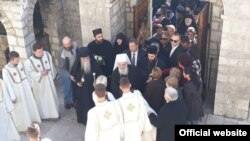 Patrijarh Irinej u poseti Crnoj Gori (rtcg.me)