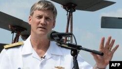 로버트 토마스 전 미 해군 7함대 사령관.
