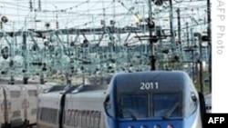 Xe lửa cao tốc Trung Quốc đoạt kỷ lục về tốc độ