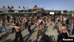 کابل میں عاشورہ کا ماتمی جلوس