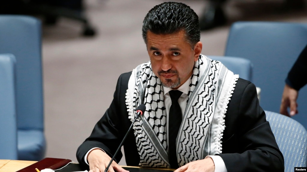 FILE - Sacha Sergio Llorentty Soliz, the permanent representative of the president of the U.N. Security Council, is pictured at the U.N., July 22, 2014. He says the council supports an African Union initiative to deploy a fact-finding mission to the Eritrea-Djibouti border.