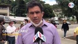 CARLOS OCARIZ DIRIGENTE OPOSITOR