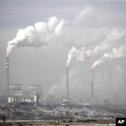 中國工廠污染廢氣程度非常嚴重