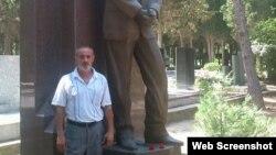Qadir Xudabaxşıyev (Foto Qadir Xudabaxşıyevin Facebook səhifəsindən götürülüb)