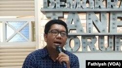 Peneliti di Indonesia Corruption Watch (ICW) Kurnia Ramadhana. (Foto: dok).