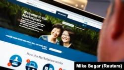 Интернет-портал «Обамакэр» по адресу HealthCare.gov (архивное фото)
