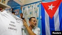 José Daniel Ferrer, um dos opositores detidos