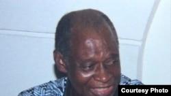 Picha ya aliyekuwa mtangazaji wa VOA Gdfrey Mngodo.