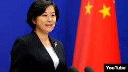 화춘잉 중국 외교부 대변인.(자료 사진)