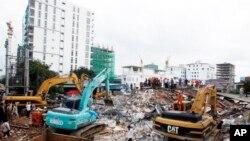 Cambodia Building Collapse