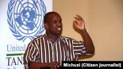 Msemaji wa Jukwaa la wahariri Tanzania Bw.Neville Meena.
