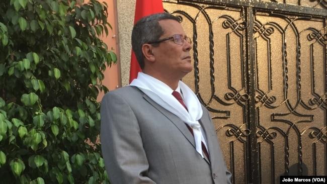 Rui Falcão, governador de Benguela