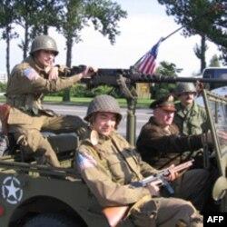 Российский экипаж американской машины боевой
