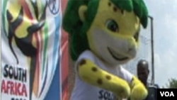 Zakumi, zvanična maskota Svjetskog nogometnog prvenstva u Južnoj Africi
