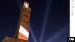 مراسم هفتادمين سالگرد جنگ جهانی دوم در گدانسک لهستان