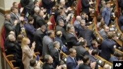 烏克蘭國會星期三晚批准了大赦法案