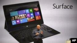 Стив Балмер представляет новый компьютер-«таблетку» от Microsoft