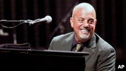 The Library of Congress akan memberikan penghargaan kepada penyanyi Billy Joel (foto: dok).