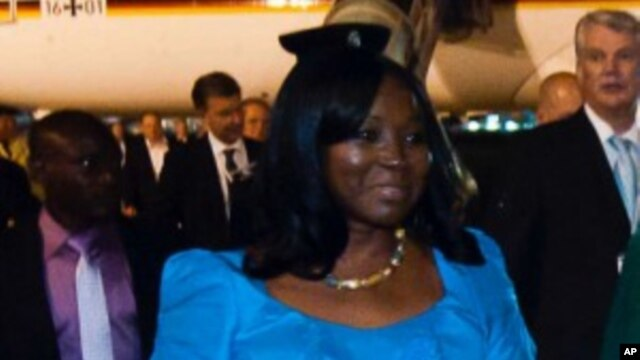 Nigeria's Minister of State for Foreign Affairs Viola Onwuliri   (File Photo)