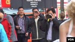 Kineski turisti u Los Angelesu