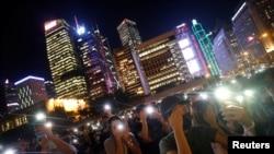 Các cuộc biểu tình đòi cải cách chính trị và dân chủ đang tiếp diễn tại Hong Kong.