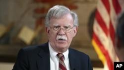 美国总统国家安全事务助理博尔顿。(资料图片)