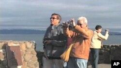 Du khách Trung Quốc thăm thành phố San Francisco
