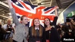 反對蘇格蘭獨立的選民對公投結果感到無比興奮