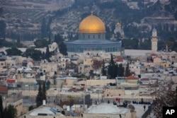 Suasana di kota tua yerusalem, 5 Desember 2017. (Foto: dok).