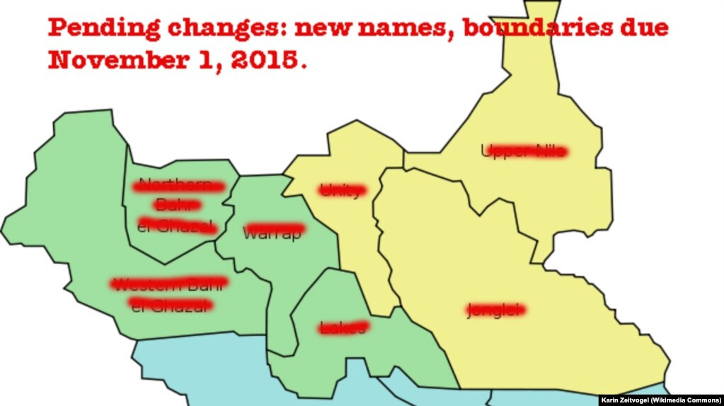 Is Creation of New States in South Sudan Legal