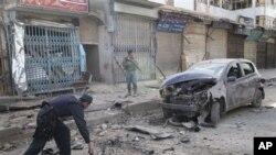 افغانستان: کار بم دھماکے میں 7 افراد ہلاک